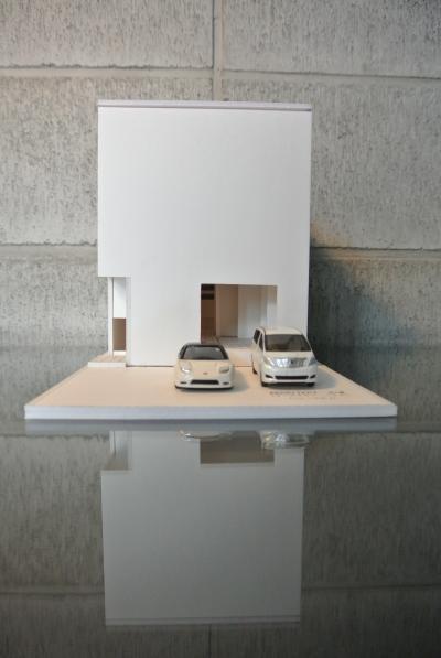 中川区の家(模型)