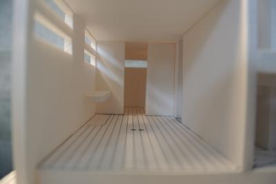 中川区の家(模型2)
